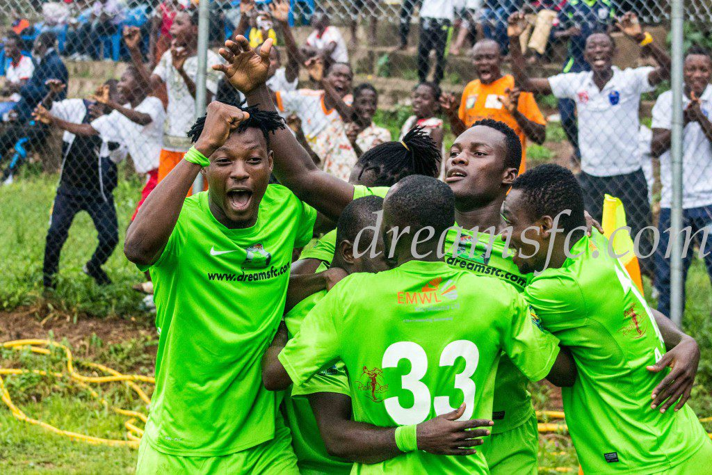 Match Report: Dreams FC 2-0 Aduana Stars -Arthur, Yakubu strike as Dreams inflict first league defeat on Fire Boys