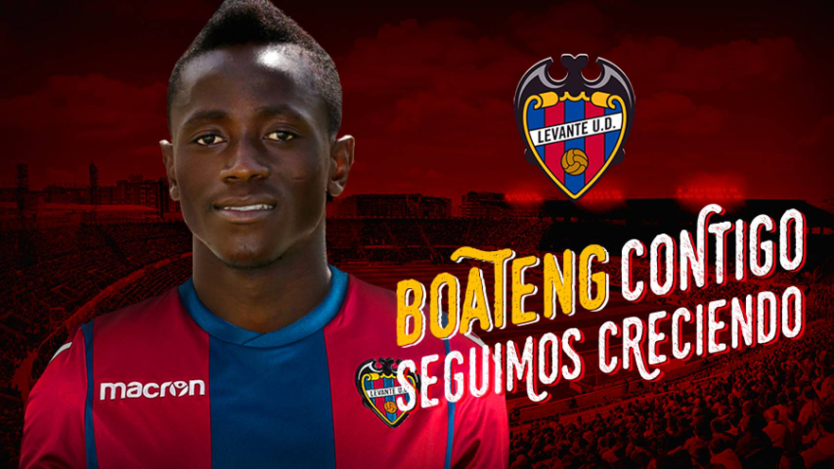 Levante paid 2 million euros to sign talented Ghanaian forward Emmanuel Boateng