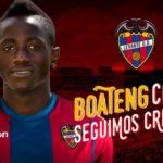 VIDEO: Ghana youth striker Emmanuel Boateng scores debut goal for Levante in Copa del Rey win at Girona