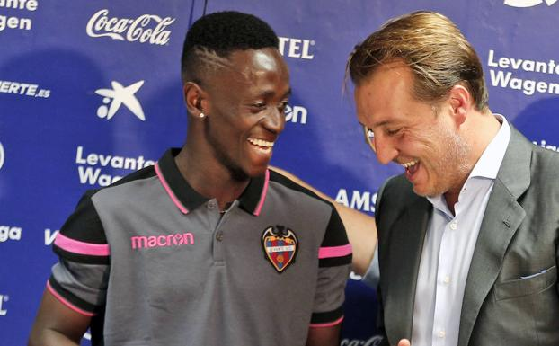Levante new recruit Emmanuel Boateng won't crack under weight of expectation