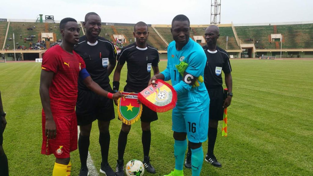 MATCH REPORT: Burkina Faso 2-2 Ghana: Resilient Burkina Faso hold Ghana in CHAN Qualifier