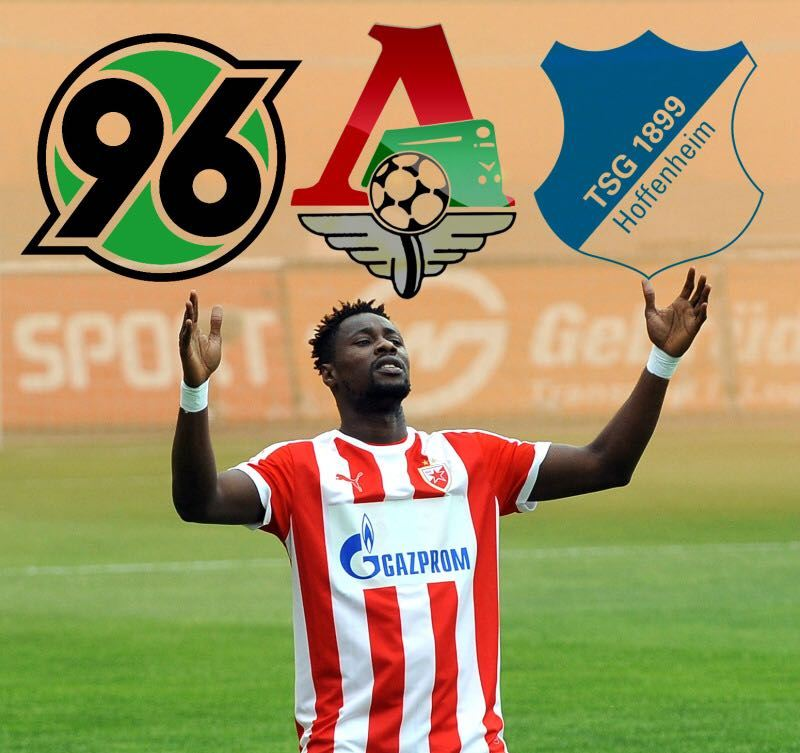 Hoffenheim, Hannover offer €7m each for Red Star Belgrade superstar Richmond Boakye