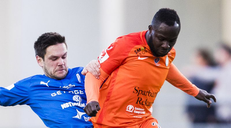 Former Arsenal star Emmanuel Frimpong is not a flop - AFC Eskilstuna boss