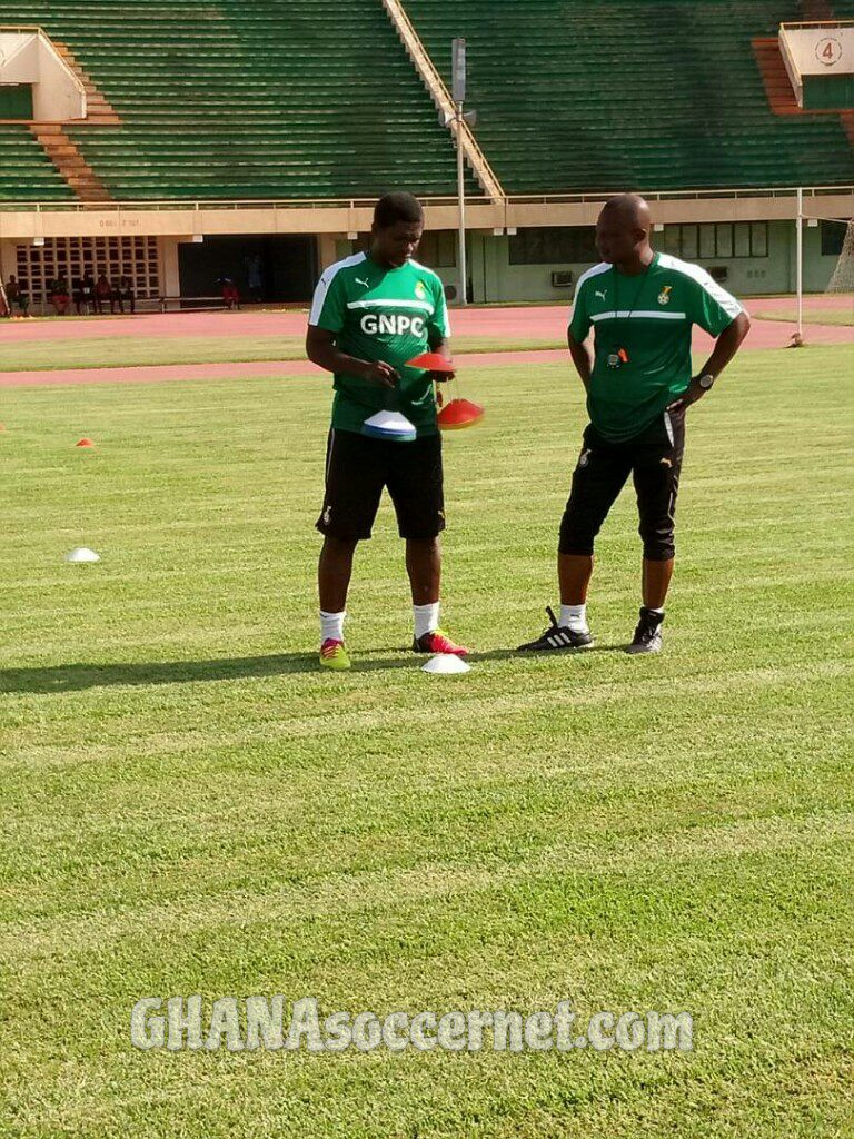 VIDEOS: Black Stars B hold first training session in Ouagadougou ahead of Saturday clash