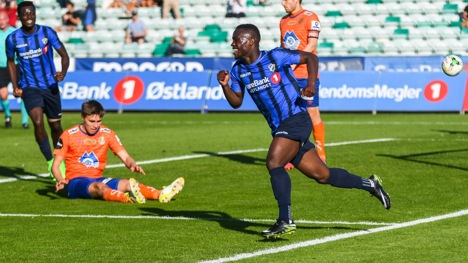 Raymond Gyasi\'s first league goal of season earns a point for Stabaek in Norwegian top-flight