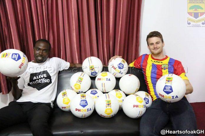 Ghana Premier League giants Hearts partners Alive And Kicking in CSR Program