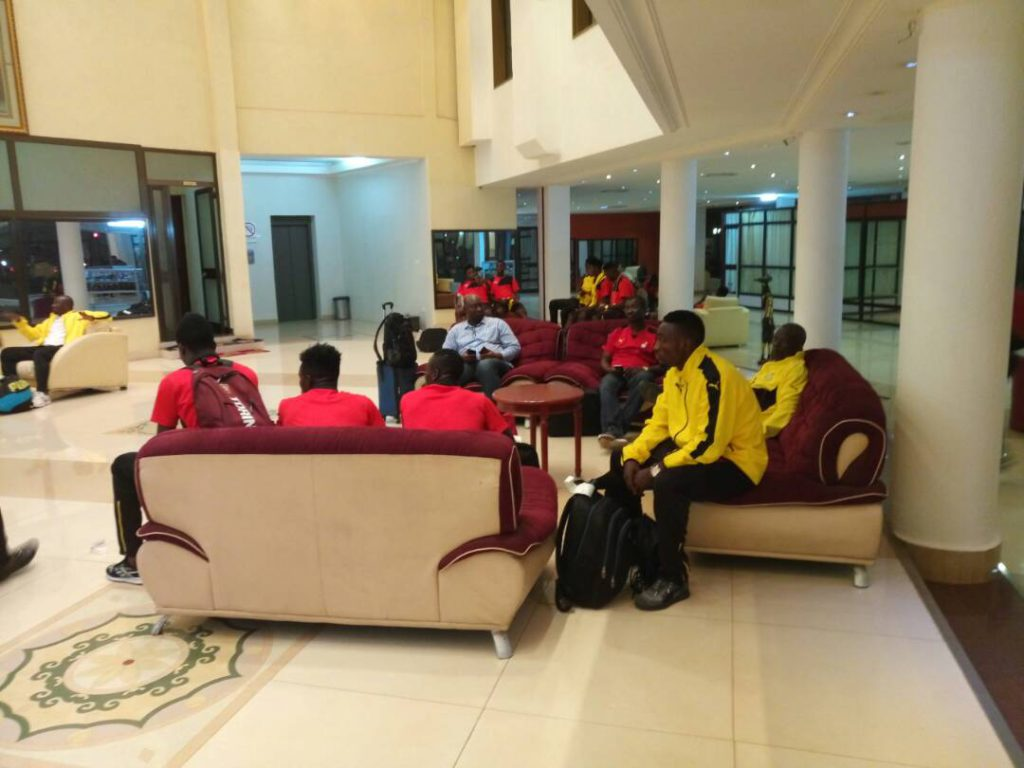 PHOTOS: Black Stars B arrive in Ouagadougou ahead of Stallions clash