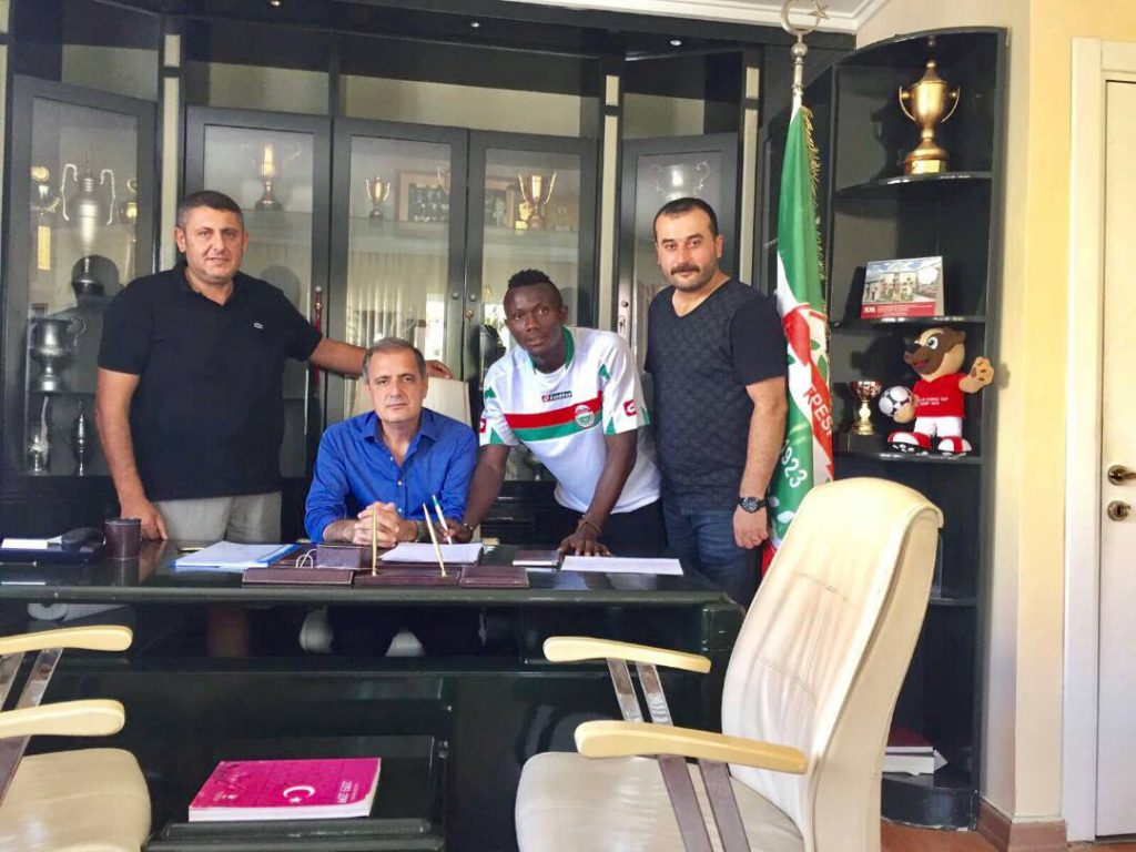 EXCLUSIVE: Ghanaian youngster Elvis Sakyi joins Istanbul Maltepespor Kulubu