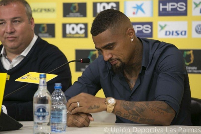 Las Palmas have two weeks to find Kevin-Prince Boateng's replacement
