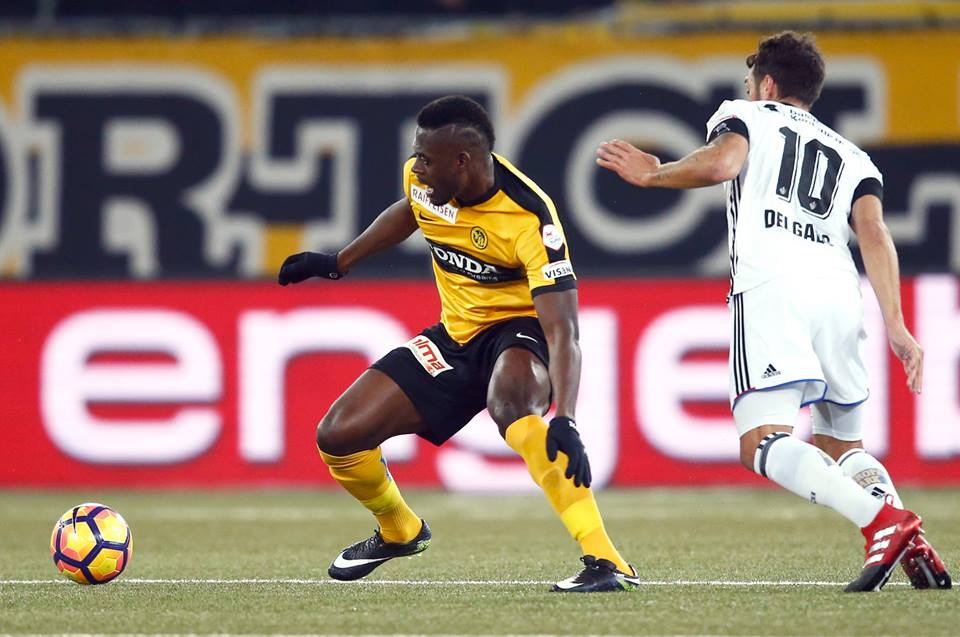 Video: Ghanaian defender Kasim Nuhu scores classy goal in Swiss side Young Boys win over Breitenrain