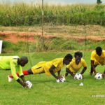 PHOTOS: Asante Kotoko double efforts in training to prepare for Hearts of Oak clash