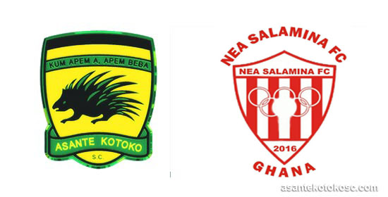 Controversial Kotoko penalty call upsets Nea Salamina coach