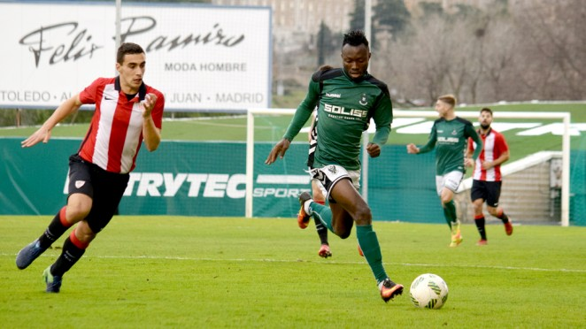 Spanish La Liga side Leganes sign Ghanaian striker Kwabena Owusu on a five year deal