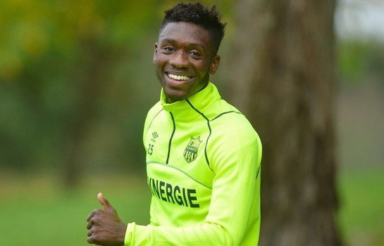 Enock Kwateng confirms Nantes stay despite lack of game time