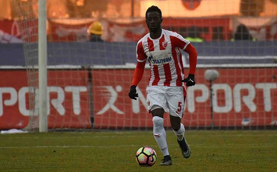 Abraham Frimpong on target for Red Star Belgrade in win over Backa