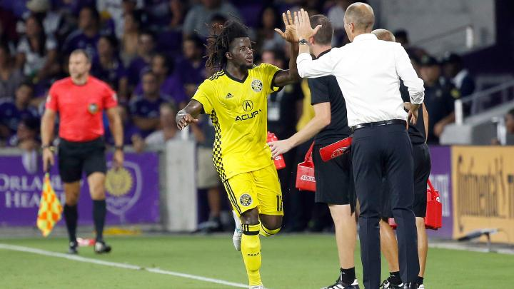 VIDEO: Columbus Crew defender Lalas Abubakar reveals confidence behind newly-found form