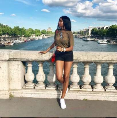 PICTURES: Never seen before photos of Ghana midfielder Thomas Partey's stunning girlfriend