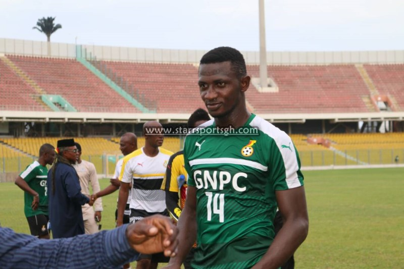Club African stalwart defender Nicholas Opoku sparkles on competitive debut for Black Stars in Uganda draw