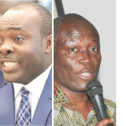 Sports Minister Isaac Asiamah challenges Nii Lante Vandepuye to go to the police if he suspects corruption at the FA