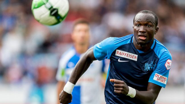 Raphael Dwamena: Left in the dust by Avram Grant,crawls to the EPL