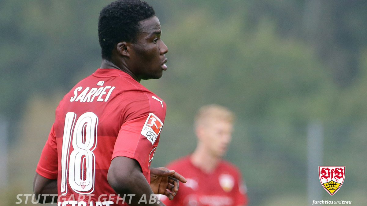 Ghanaian midfielder Hans Nunoo continues to train with Stuttgart amidst work permit issues
