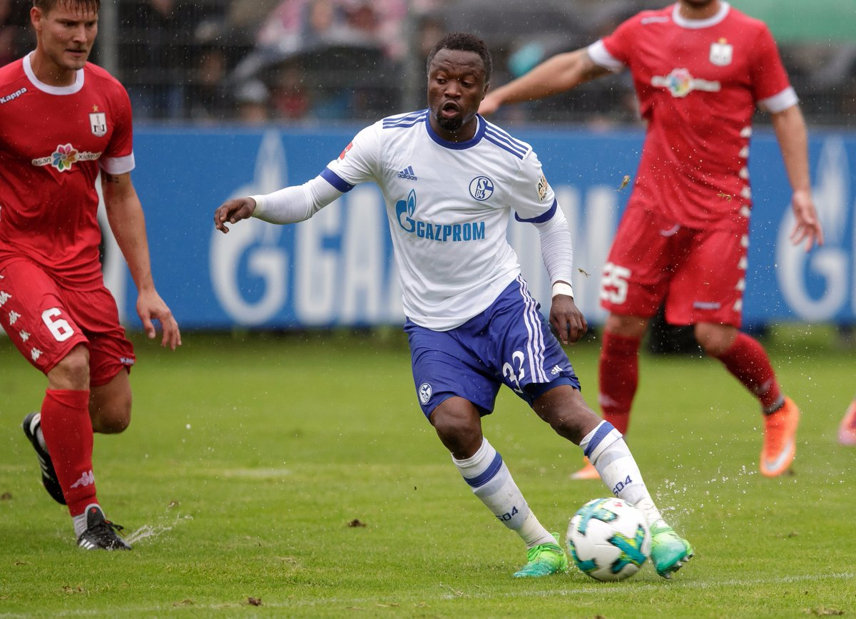 CONFIRMED:Bernard Tekpetey extends Schalke deal till 2020 before being loaned out