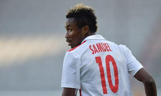 VIDEO: Samuel Tetteh training with David Atanga at Red Bull Salzburg