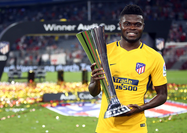 Ghana midfielder Thomas Partey misses Atletico Madrid's opener due to suspension