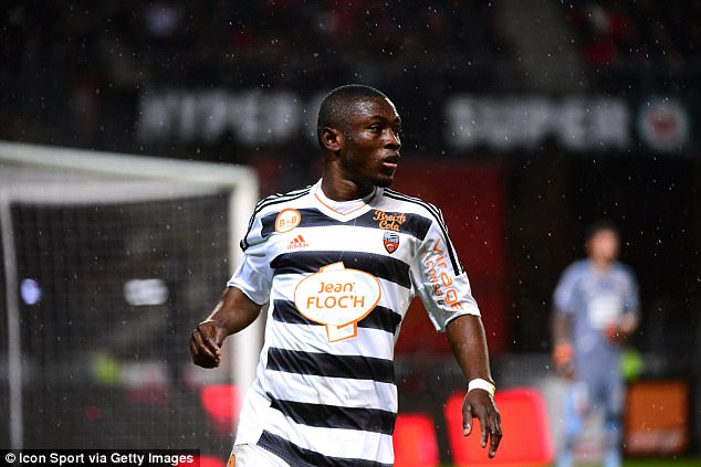Burnley consider move for Ghana and Lorient striker Abdul Majeed Waris