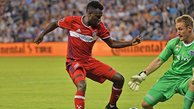 VIDEO: Ghana winger David Accam confirms there are 'a lot of offers' to sign him from Chicago Fire
