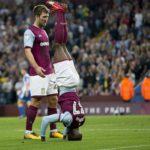 Video: Aston Villa winger Albert Adomah strange headstand celebration makes headlines after his heroics