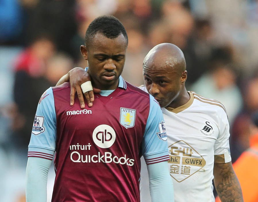 Twitters erupts with jokes as Manchester United complete 8-0 demolition of Ayew brothers