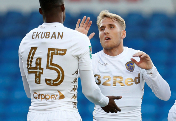 Caleb Ekuban makes injury return in Leeds United win against Middlesbrough