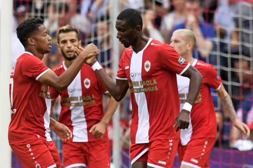 Video: William Owusu rescues point for Antwerp against Lokeren in Belgium