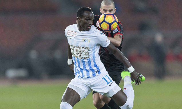 Ghana striker Raphael Dwamena to undergo medical in the UK ahead of Brighton move