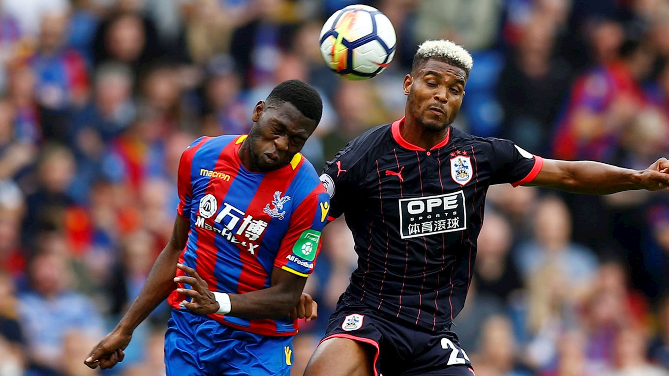 Timothy Fosu-Mensah debuts for Crystal Palace in shock premier league defeat against Huddersfield Town