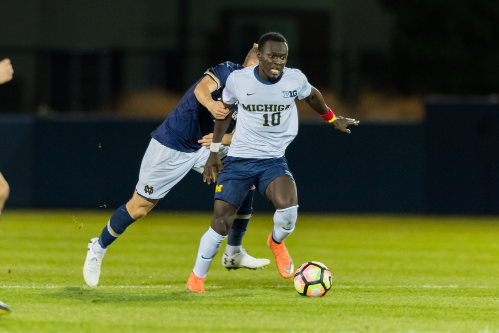 Michigan's Francis Atuahene is American soccer's next Ghanaian sensation