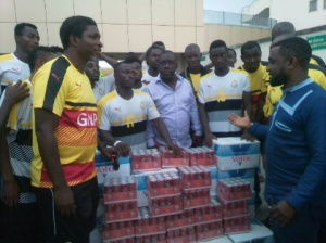 GHALCA donates to the Black Stars B ahead of Burkina Faso clash