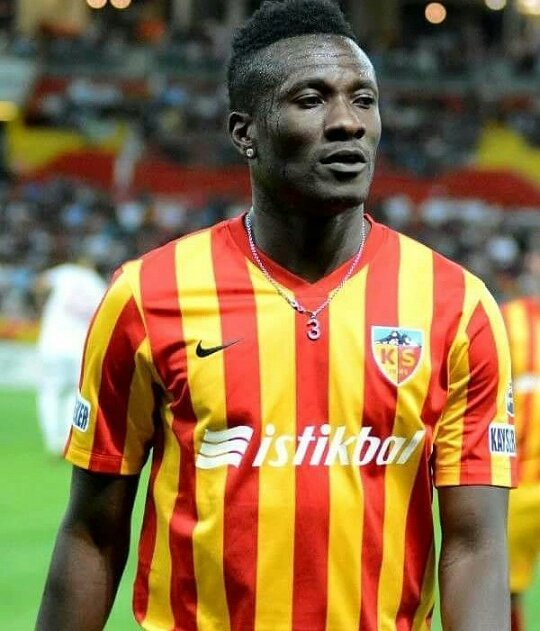Asamoah Gyan's first competitive goal for Kayserispor sends Super Lig side through in Turkish Cup