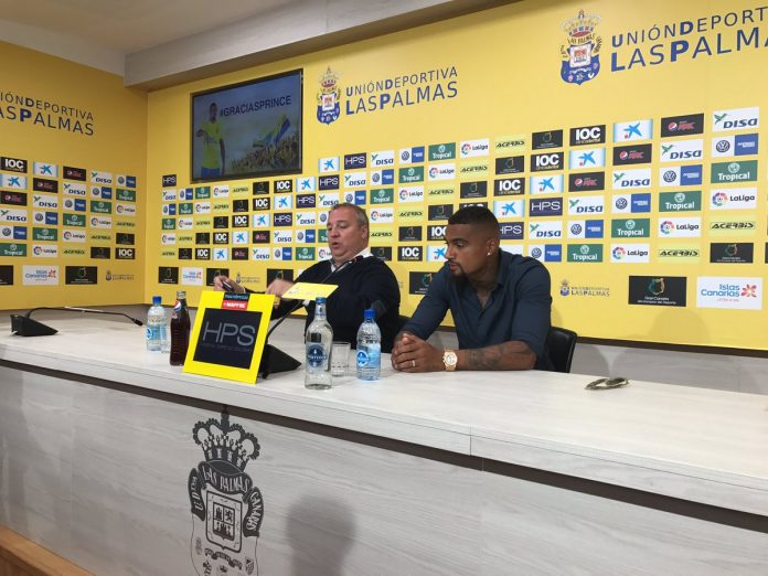 Kevin-Prince Boateng: I will one day return to Las Palmas