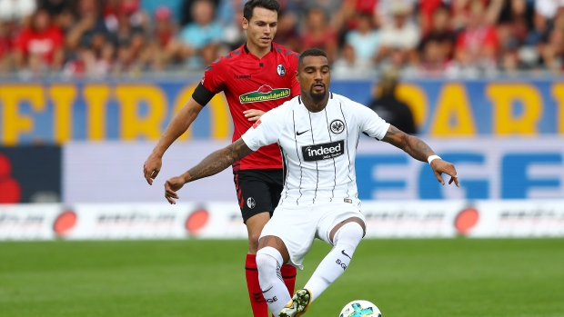 Ghana midfielder Kevin-Prince Boateng makes Frankfurt debut in draw at Freiburg