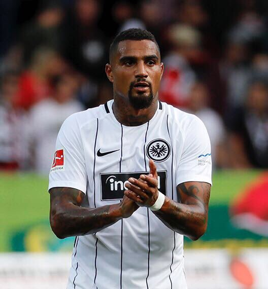 Eintracht Frankfurt handed major boost as K.P. Boateng makes injury return
