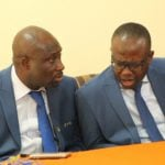 Ghana FA president Kwesi Nyantakyi plays down feud with vice George Afriyie