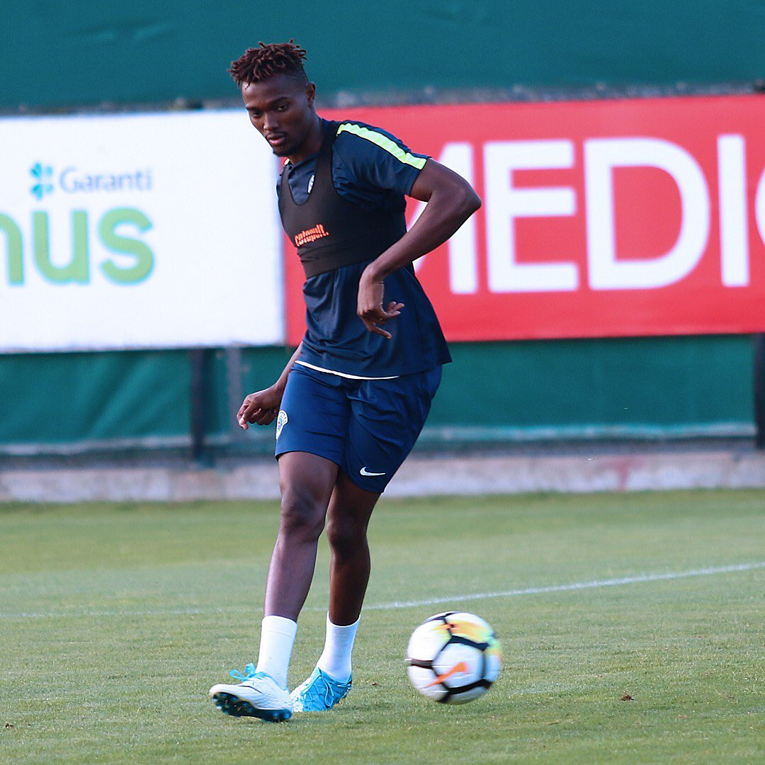 VIDEO: Bernard Mensah's Turkish topflight debut against Isaac Sackey's Alanyaspor