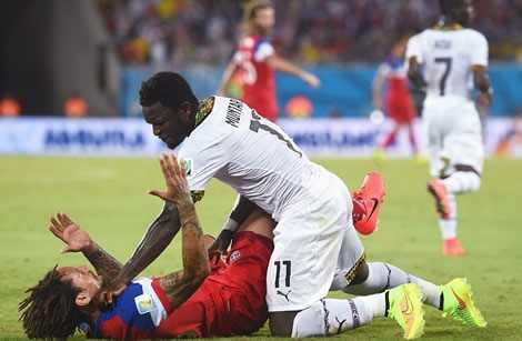 Black Stars defender Abass Mohammed idolises Ghana star Sulley Muntari