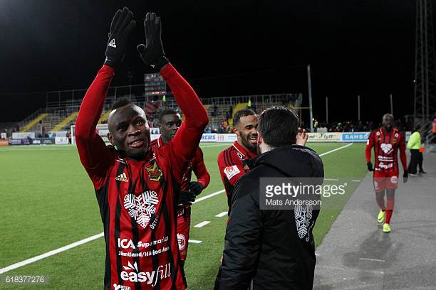 Europa League: Samuel Mensah\'s Ostersund close to securing historic round of 32 berth