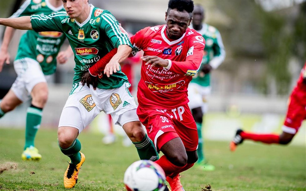 Ghanaian midfielder Seth Paintsil suffers injury blow in FF Jaro home loss to AC Oulu