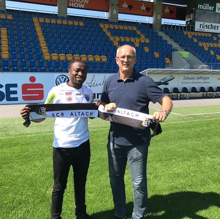 German side Schalke wants Ghanaian striker Tekpetey to return after Altach loan