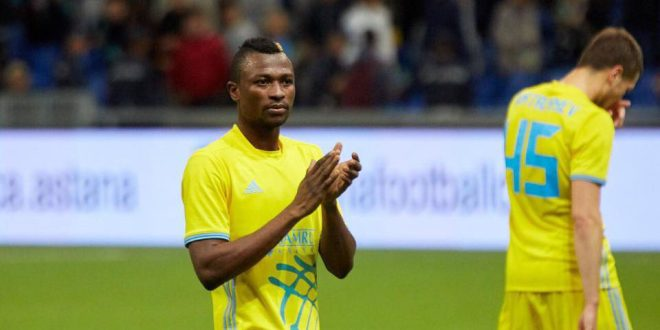 Patrick Twumasi scores but not enough to save Astana from Europa League defeat to Villarreal