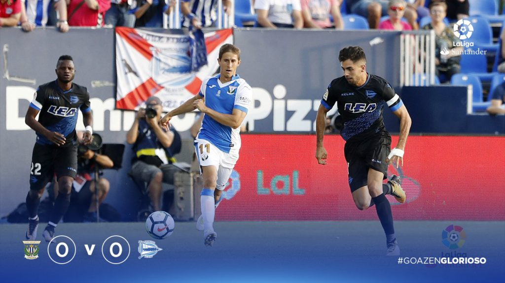 Video: Mubarak Wakaso's Spanish La Liga debut for Alaves ends in defeat at Leganes